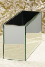 "10"" X 4"" X 6"" MIRROR CONTAINER BOX"