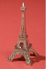"3"" EIFFEL TOWER SILVER"