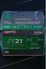 """JT-21 3/8"""" STAPLES PKG/5000"""
