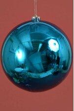 200MM SHINY PLASTIC BALL TURQUOISE