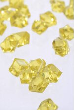 SMALL ACRYLIC CUBE YELLOW PKG/1LB