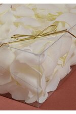 "10"" METALLIC STRETCH LOOP W/BOW GOLD PKG/100"