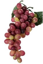 "10"" LADY FINGER GRAPES ROSE/GREEN"