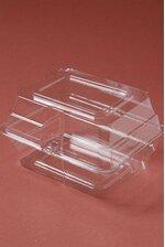 """4"""" X 5"""" X 3"""" PLASTIC BOUTONNIERE BOX CLEAR PKG/12"""