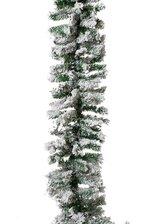 9FT SNOWY PINE GARLAND