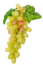 "12"" GRAPE CLUSTER W/LEAVES YELLOW"