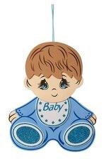 "15.5""H BABY SHOWER BABY BOY FOAM SIGN BLUE"