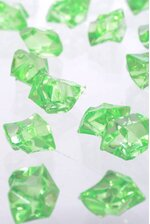 LARGE ACRYLIC CUBE MINT GREEN PKG/1LB