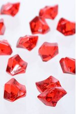 LARGE ACRYLIC CUBE RED PKG/1LB