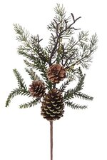 19'' PINE/PINE CONE PICK GREEN/BROWN