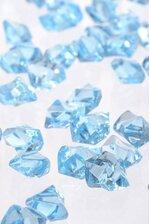 LARGE ACRYLIC CUBE LIGHT BLUE PKG/1LB