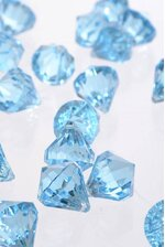"0.75"" ACRYLIC DROP LIGHT BLUE PKG/1LB"