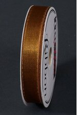 "5/8"" X 20YDS WIRED AVALON RIBBON GOLDEN BROWN"