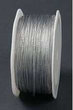 1MM X 144YDS TINSEL CORD SILVER