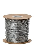 1MM X 100YDS TINSEL CORD SILVER