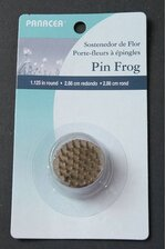 """1"""" ROUND PIN FROG GOLD/SILVER"""