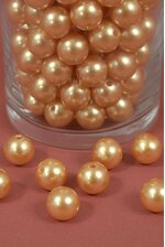 16MM ABS PEARL BEADS GOLD PKG(500g)