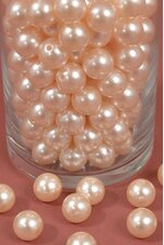 16MM ABS PEARL BEADS CHAMPAGNE PKG(500g)