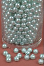 12MM ABS PEARL BEADS AQUA PKG(500g)