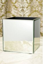 "6"" CUBE MIRROR CONTAINER BOX"