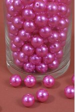 16MM ABS PEARL BEADS HOT PINK PKG(500g)