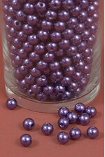 10MM ABS PEARL BEADS PURPLE PKG(500g)