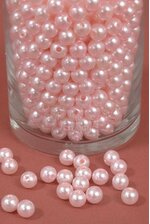 10MM ABS PEARL BEADS PINK PKG(500g)