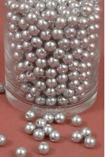 10MM ABS PEARL BEADS SILVER PKG(500g)