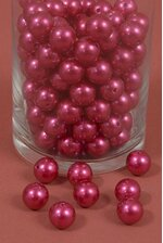 16MM ABS PEARL BEADS RASPBERRY PKG(500g)