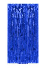"39"" X 6.5FT GLEAM'N CURTAIN ROYAL BLUE"