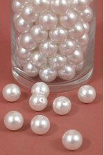 16MM ABS PEARL BEADS WHITE PKG(500g)