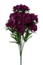 "18"" SILK CARNATION BUSH PURPLE"