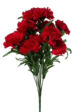 "18"" SILK CARNATION BUSH RED"
