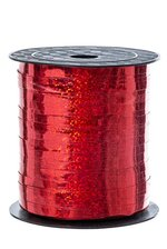 """3/16"""" X 250YD HOLOGRAPHIC CURLING RIBBON (RED)"""