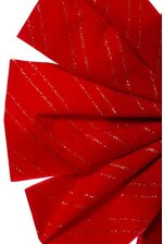 """12"""" X 19"""" CHRISTMAS BOW RED"""
