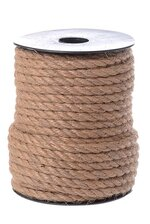 5MM X 20M JUTE ROPE NATURAL