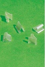 """1/2"""" PLASTIC QUICKIE CLIPS PKG/100"""