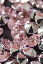 7MM ACRYLIC DIAMOND LIGHT PINK (APPR. 192 PCS)
