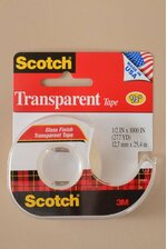 "1/2"" X 1000"" SCOTCH TRANSPARENT TAPE"