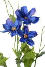 """27"""" SILK MINI COSMOS SPRAY X5 BLUE"""