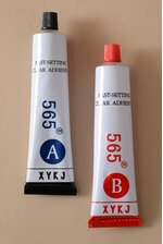 FAST SETTING ADHESIVE CLEAR PKG/2