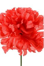 "7"" SILK CARNATION PICK RED PKG/100"