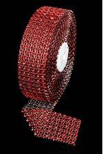 "1.5"" X 5YDS DIAMOND WRAP RED"