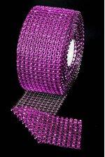 """2.5"""" X 5YDS DIAMOND WRAP PURPLE"""
