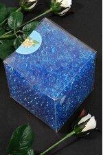 MINI PLASTIC PEBBLES ROYAL BLUE PKG/1LB