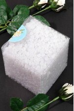 MINI PLASTIC PEBBLES WHITE PKG/1LB