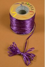 100YDS PEARLIZED RAFFIA PURPLE