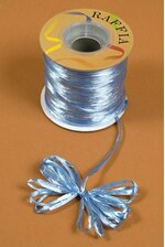 100YDS PEARLIZED RAFFIA LIGHT BLUE