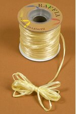 100YDS PEARLIZED RAFFIA YELLOW