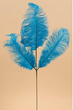 """29"""" FEATHER SPRAY TURQUOISE"""